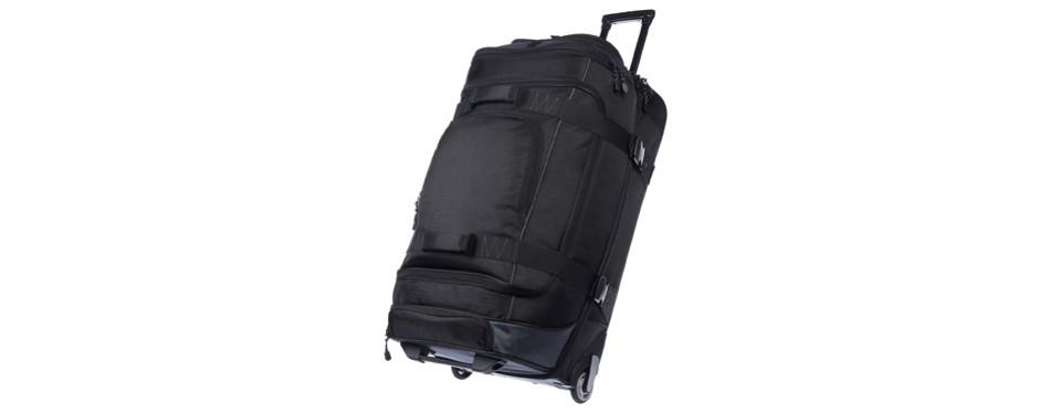 amazonbasics ripstop rolling duffel bag