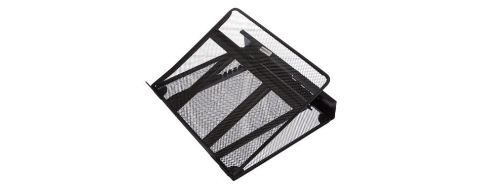 amazonbasics ventilated adjustable computer stand