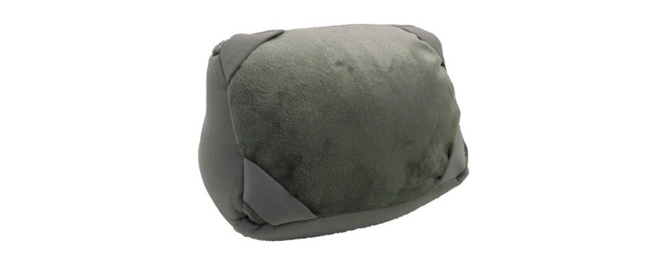 amc beanbag travel pillow and tablet stand