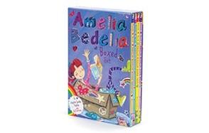 amelia bedelia chapter book box set: books 1-4