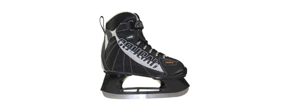 american athletic shoe senior cougar soft boot ice hockey skates