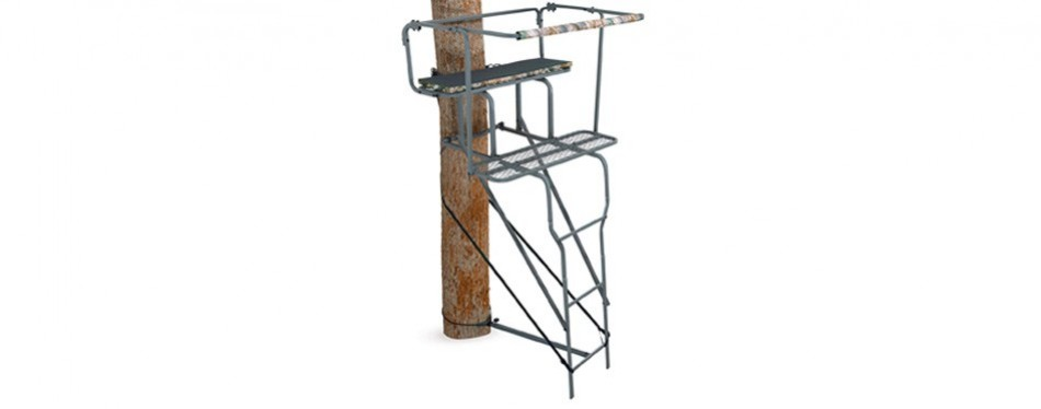 "ameristep 15"" two-man ladder stand"