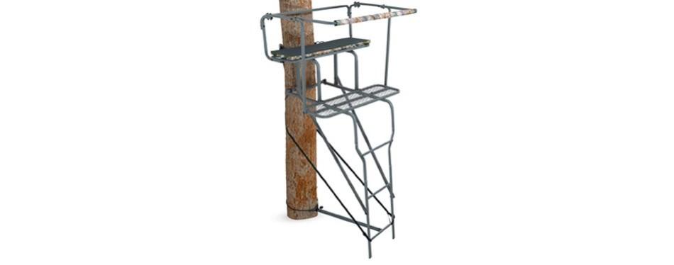 "ameristep 15"" two-man ladder stand"
