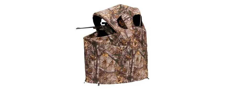 ameristep tent chair easy fold over ground hunting blind