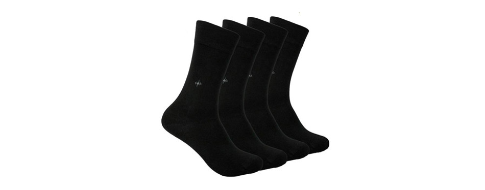 anatolian natural antibacterial seamless soft bamboo socks