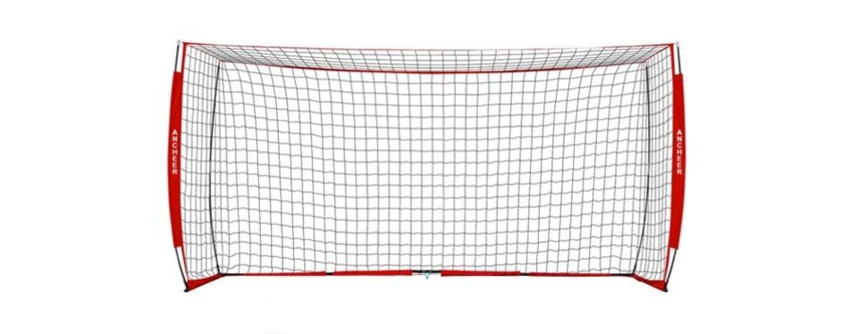 ancheer portable soccer goal net