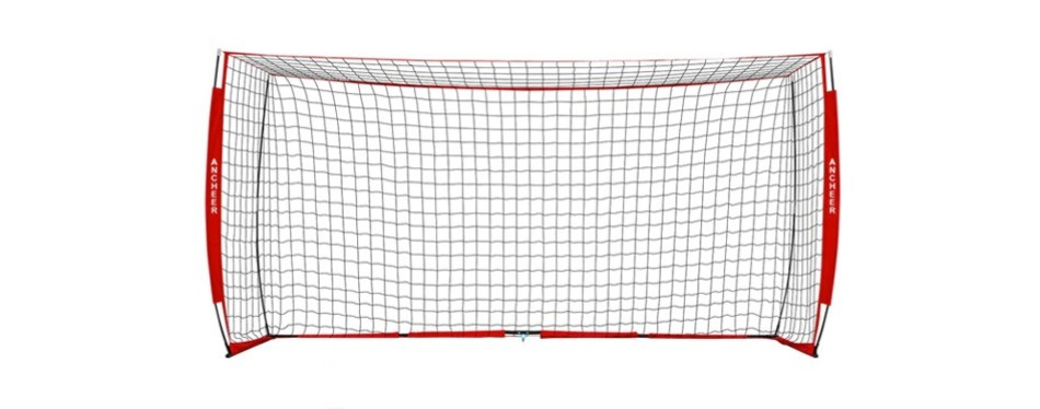 ancheer portable soccer goal net
