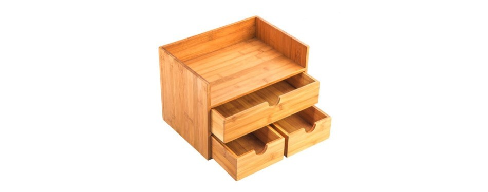 ancona life 3-tier desktop organizer