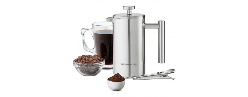andrew james cafetiere gift set