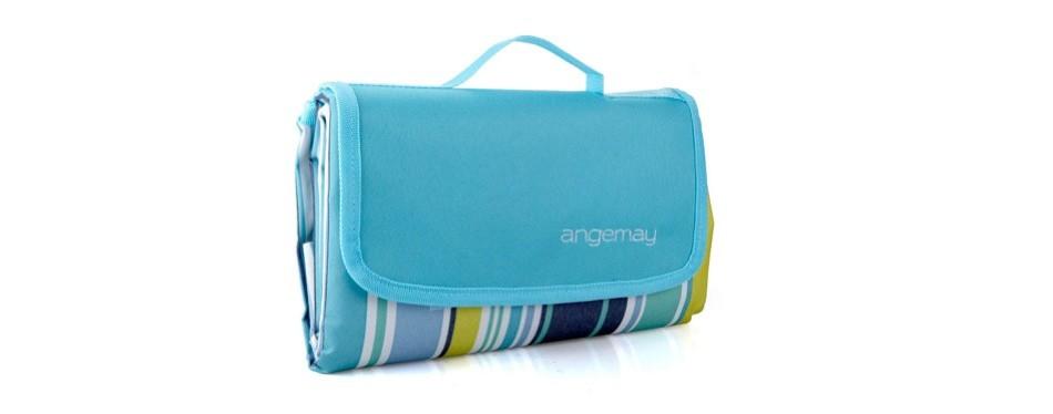 angemay outdoor waterproof picnic blanket