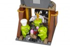 angry birds king pig's castle lego castle set