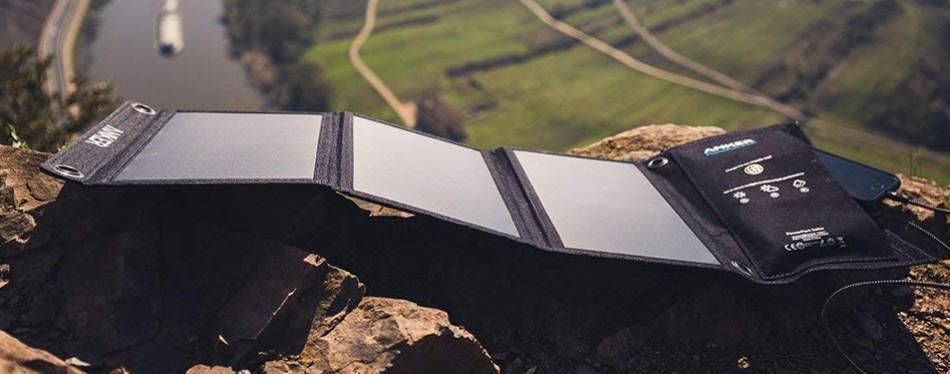 anker 21w portable solar panel