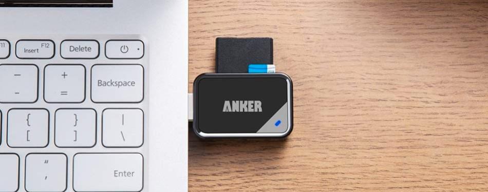 anker 8-in-1 usb 3.0 portable card reader