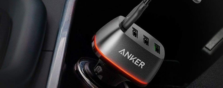 anker quick charge 3.0 usb car charger