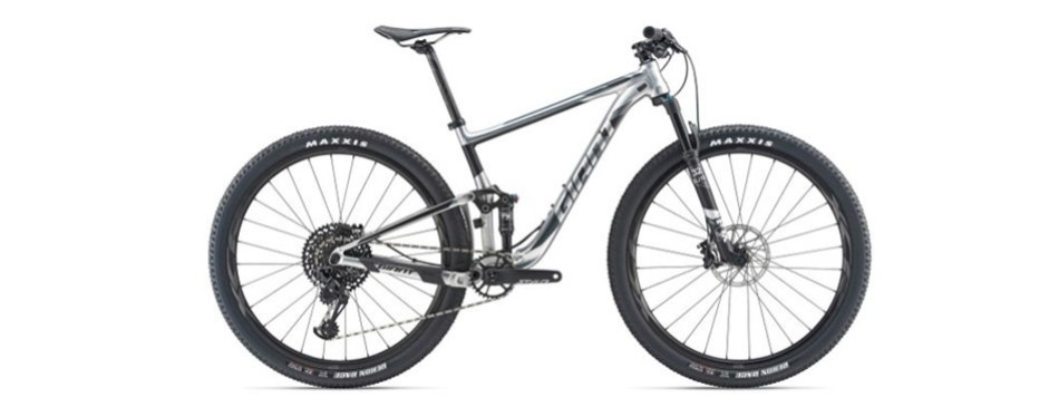 anthem 29er mountain bike, by giant