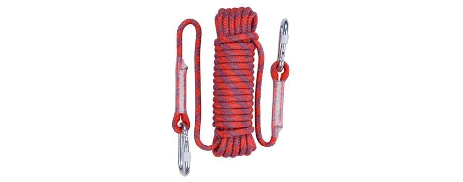 aoneky 10 mm static outdoor climbing rope