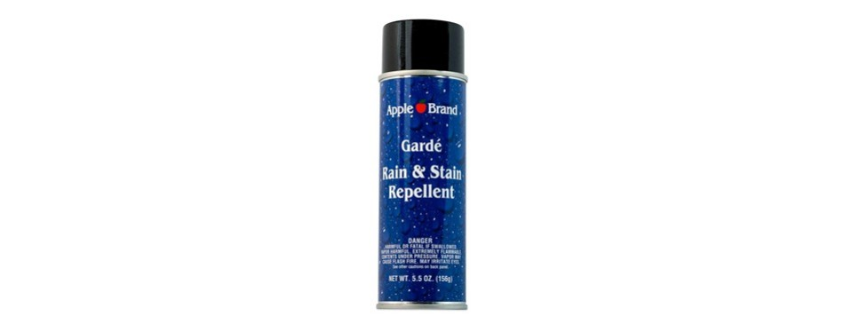 apple brand garde rain and stain repellent