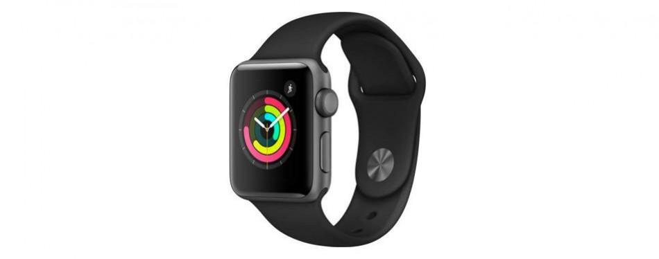 apple smart watch series 3 fitness tracker