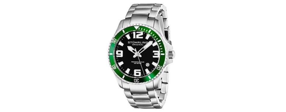 aquadiver regatta champion stuhrling watch