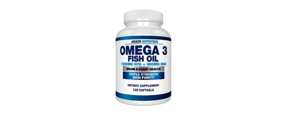 arazo nutrition omega-3 fish oil