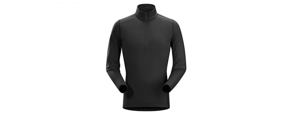 arc'teryx men's phase ar long sleeve base layer top