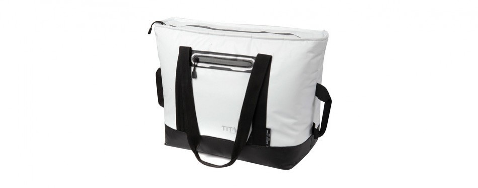 arctic zone titan 30 can insulated sport tote, white