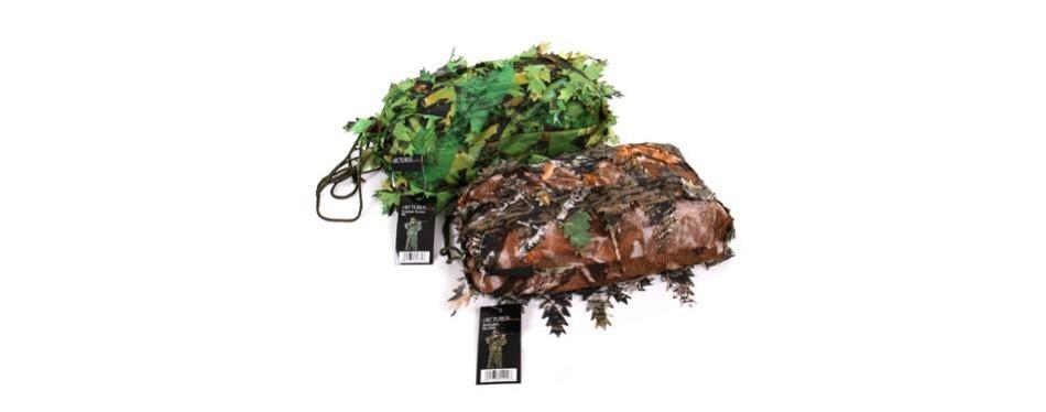 arcturus 3d leafy ghillie suit over 1,000 laser-cut leaves