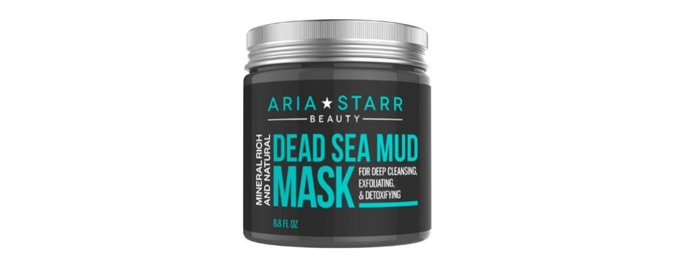 aria starr dead sea mud mask