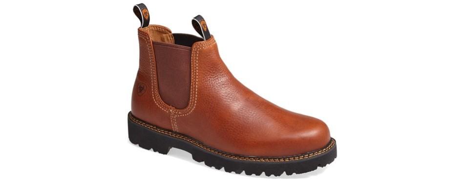 ariat spot hog chelsea boots