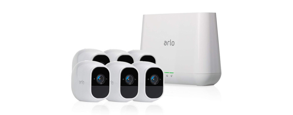 arlo technologies 2 home security camera system