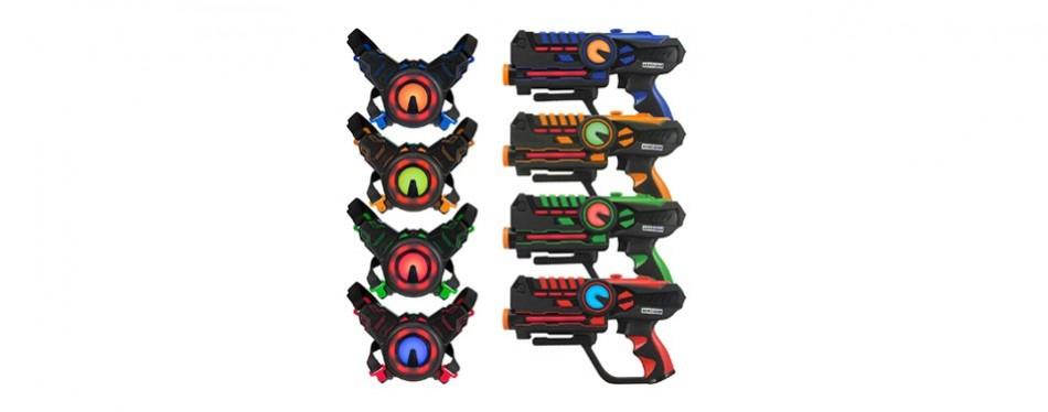 armogear infrared laser tag set guns and vests mega pack