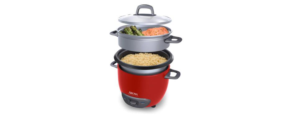 aroma housewares pot style rice cooker