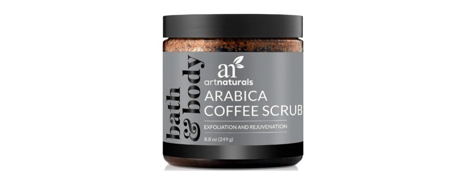 artnaturals arabica coffee body scrub