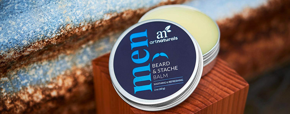artnaturals mustache and beard balm