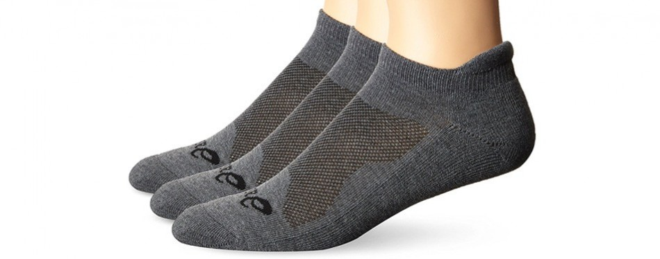 asics low cut cushion socks