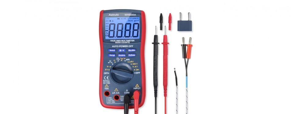 astroai digital multimeter, trms 6000