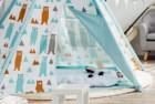 asweets kids foldable teepee tent