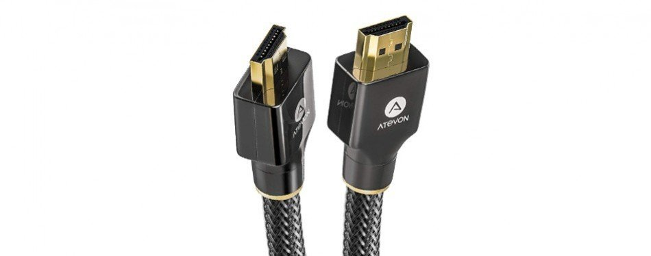 atevon high speed 18gbps hdmi cable
