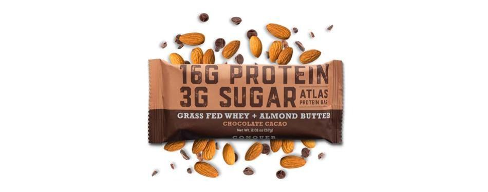 atlas bar - keto low carb friendly protein bar
