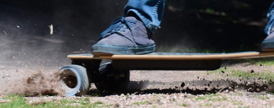 atom longboards all-terrain electric skateboard