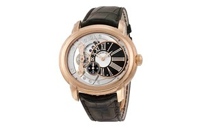 audemars piguet millenary rose gold skeleton watch