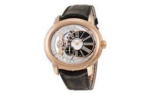 audemars piguet millenary rose gold skeleton watch