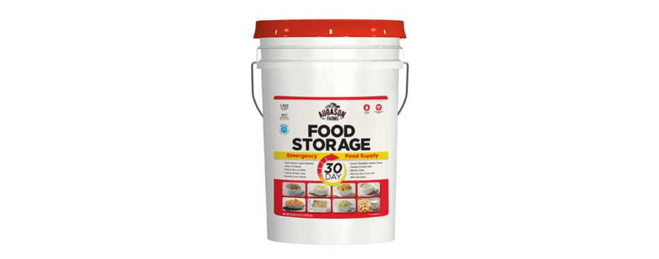 augason farms 30-day emergency food storage