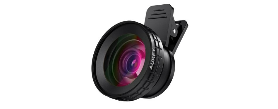 aukey ora macro clip-on iphone lens