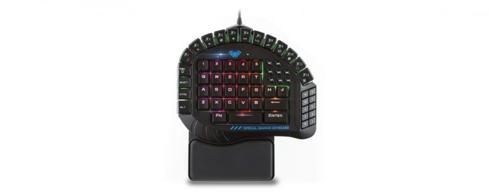 aula one-handed gaming keyboard
