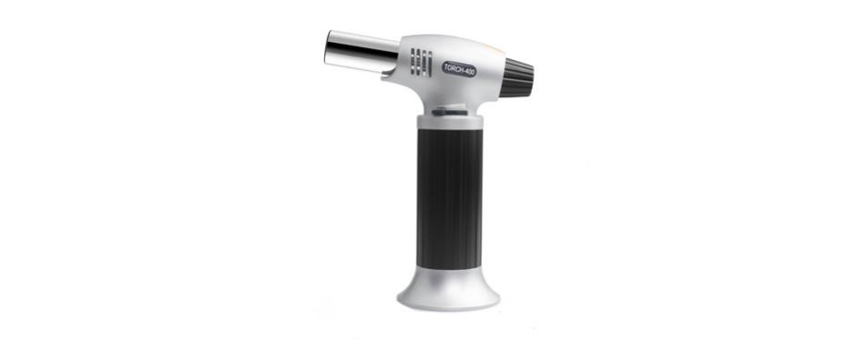 authenzo kitchen butane torch lighter
