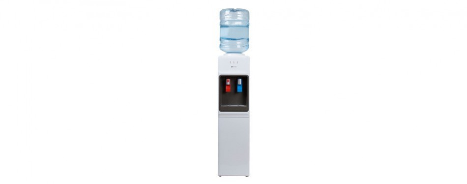 avalon top load slim fit water cooler