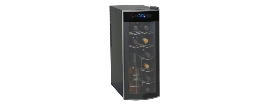 avanti 12 bottle thermoelectric countertop wine cooler