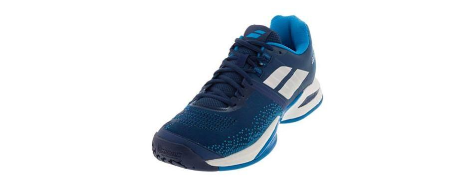10. babolat propulse blast all court mens tennis shoe