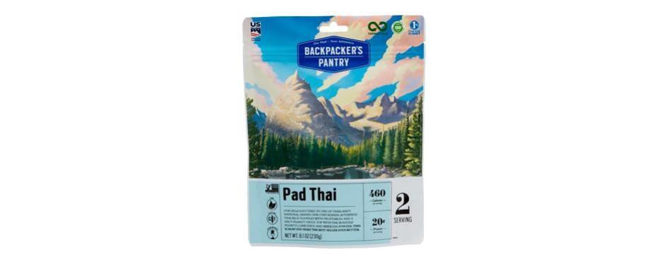 backpacker pantry pad thai